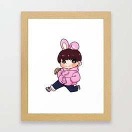 Cooky x Kookie Framed Art Print