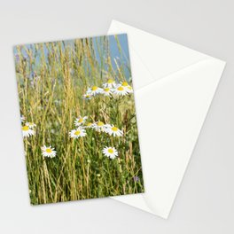 Wildflowers along the lake Stationery Cards