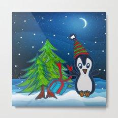 Christmas Gifts | Christmas Spirit | Kids Painting Metal Print