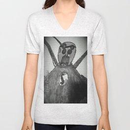 New Zombie t-shirt Unisex V-Neck
