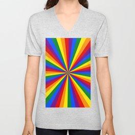 Eternal Rainbow Infinity Pride Unisex V-Neck
