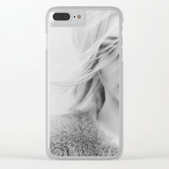 Under the veil Clear iPhone Case