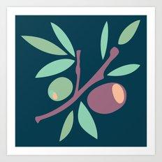 Tapas - Olives Art Print