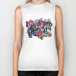 Kingdom Hearts Biker Tank