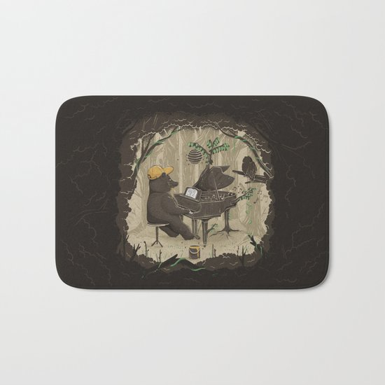 Forestal Sounds Bath Mat