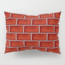 Red brick pattern Pillow Sham