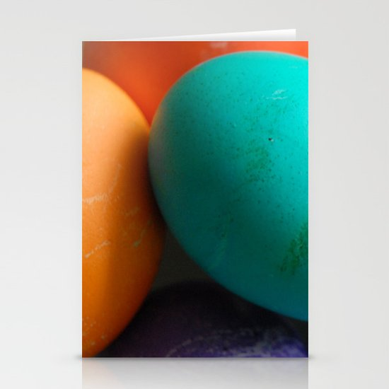 Dyed Eggs Stationery Cards