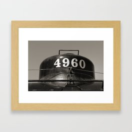 Train parts - Engine Framed Art Print