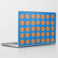 polka Laptop & iPad Skins featuring Polka  by Ruth Shaffer Art and Designs