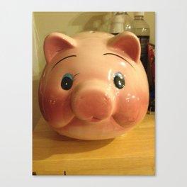 Piggy Canvas Print