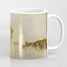 Claude Monet - Houses on the Achterzaan (1871) Coffee Mug