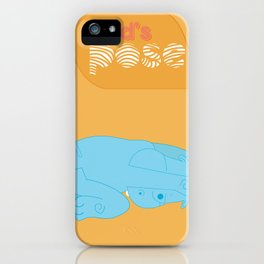I Hatha Pose For You - Hippo iPhone Case