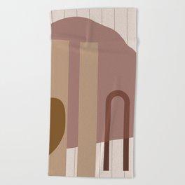 // Shape study #25 Beach Towel