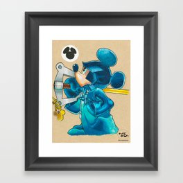 Mickey Mouse Framed Art Print