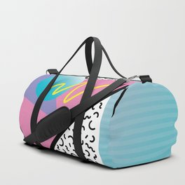 Memphis pattern 41 - 80s / 90s Retro Duffle Bag