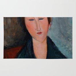 """Amedeo Modigliani """"Buste de jeune fille (Mademoiselle Marthe)"""" Rug"""