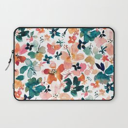 ISLAND TIME Tropical Floral Laptop Sleeve