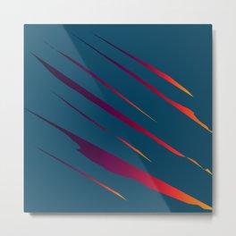 Tearing The Veil: Colors Metal Print
