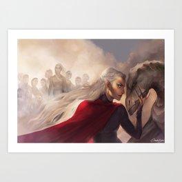 Manon and the thirteen Art Print