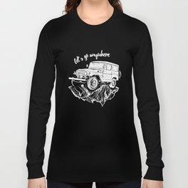 FJ40 RockRiding Long Sleeve T-shirt