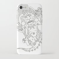 devil iPhone & iPod Cases featuring Devil by MissingPieceTattoo