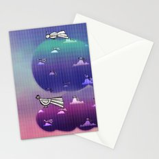 Migration to paradise Stationery Cards