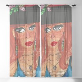 Witch - Tilda Sheer Curtain