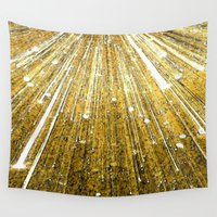 big bang Wall Tapestries featuring Big Bang by Foxxya
