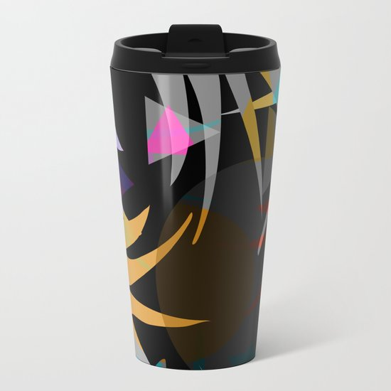 Nightjungle Metal Travel Mug