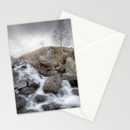 A Winter Waterfall Stationery Cards