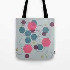Hexagon Jewel Tote Bag