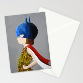 Super Girl Stationery Cards