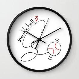 Knuckleball Wall Clock