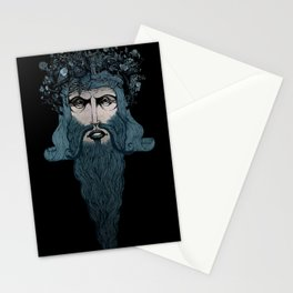 Conquerer {blue}. Stationery Cards