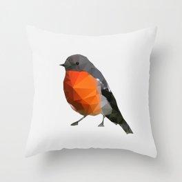 Geo - Robin Throw Pillow