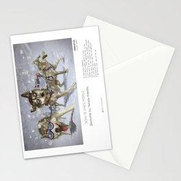 """Ammarnäs"" in words & image (M.Konecka) Stationery Cards"