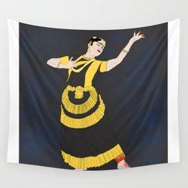 Mohiniyattam Classical Dance Kerala India Wall Tapestry