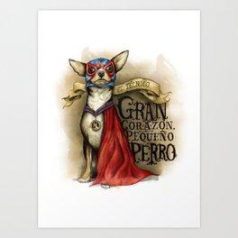 Little Dog Art Print