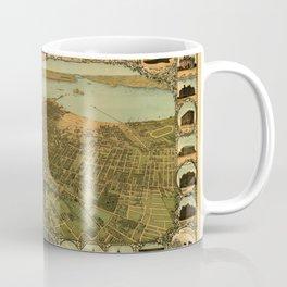 Map Of Oakland 1900 Coffee Mug