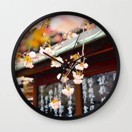 Japan - 'Spring' Wall Clock