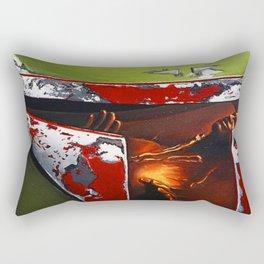 BOBA FETT HELMET Rectangular Pillow