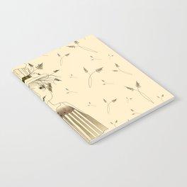 Betty Lou In Wheat Notebook