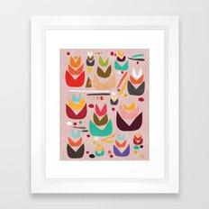 Proud Garden Framed Art Print