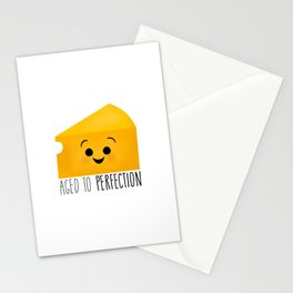 Aged To Perfection - Cheese Stationery Cards