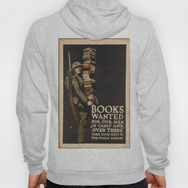 Vintage poster - Books Wanted Hoody