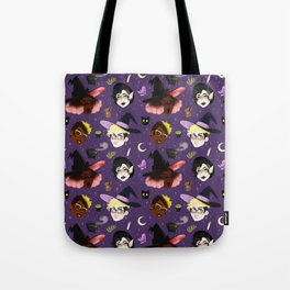 Witching Hour Pattern Tote Bag