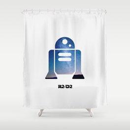 R2-D2 Shower Curtain