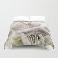 biology Duvet Covers featuring Into the deep by UtArt