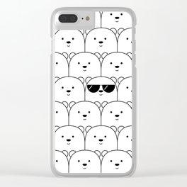 That Cool Polar Bear Clear iPhone Case