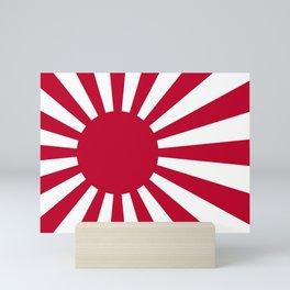 Naval Ensign of Japan Mini Art Print